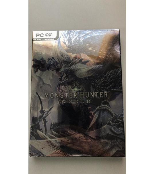 PC MONSTER HUNTER WORLD PHYSICAL DVD